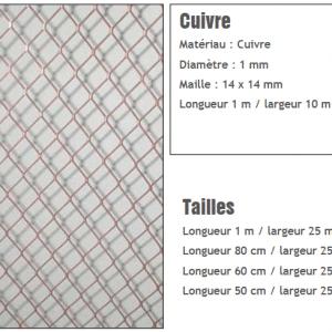 filet-protection-anti-pigeons métallique-cuivre-sogepi-servibois