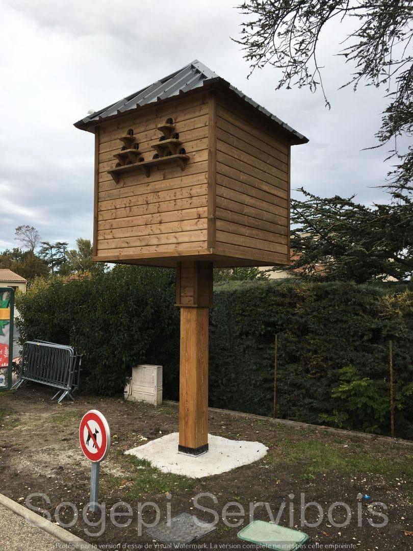 Nos pigeonniers, une solution durable et écologique pour la gestion de la surpopulations des pigeons