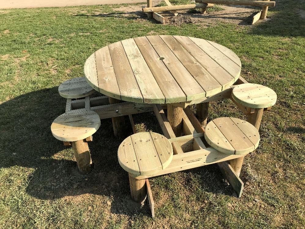 sogepi servibois table ronde 1000x750